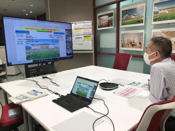 re_03_01 県民みんなと対話ログ:倉吉市公民館連絡協議会でのオンライン研修(2021.7.8)-美術館概要について-