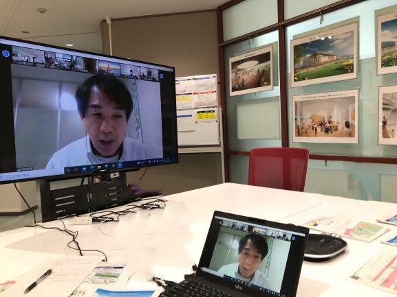 re_03_02 県民みんなと対話ログ:倉吉市公民館連絡協議会でのオンライン研修(2021.7.8)-美術館概要について-