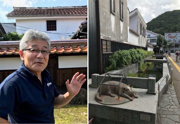 根鈴館長と倉吉市内の野外彫刻.png-750x518 地域の見どころリレー:倉吉博物館
